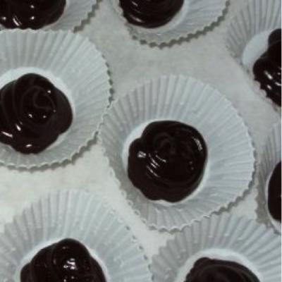 Dark Chocolate & Cherry Balsamic Truffles