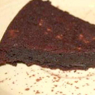Flourless 72% Dark Chocolate & Blood Orange Olive Oil Cake