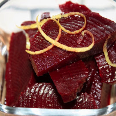 Organic Honey Vinegar Pickled Heirloom Beets