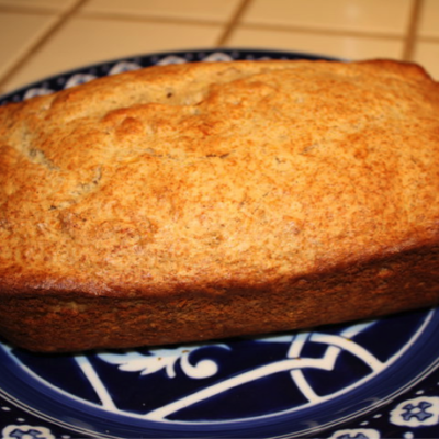 Rich Buttery Whole Wheat Extra Virgin Olive Oil Banana Bread