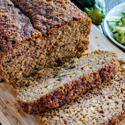 Whole Wheat EVOO Zucchini Bread