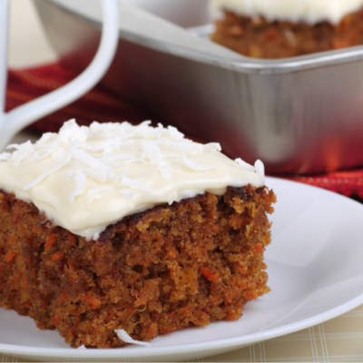 Blood Orange Carrot Cake