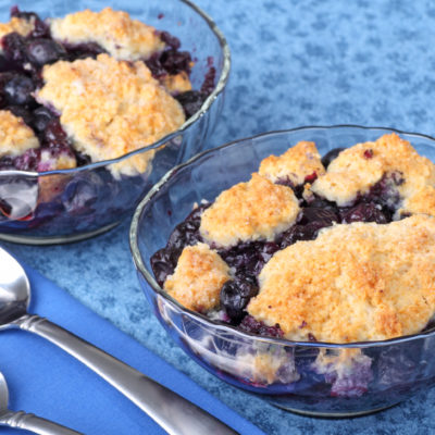 Blackberry Ginger Cobbler