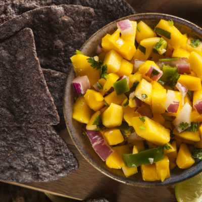 Mango Balsamic Salsa