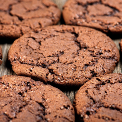 Smokey and Salty Chocolate Cookies