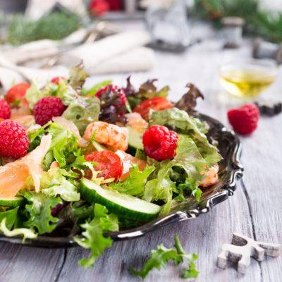 Tuscan Raspberry Mixed Salad
