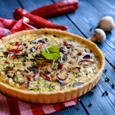 Savoury Custard – Quiche