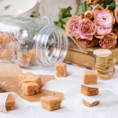 White Chocolate Fudge & Persian Lime Olive Oil
