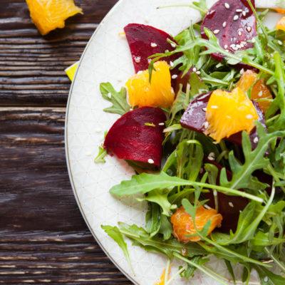 Roasted Beet with Maple Salad