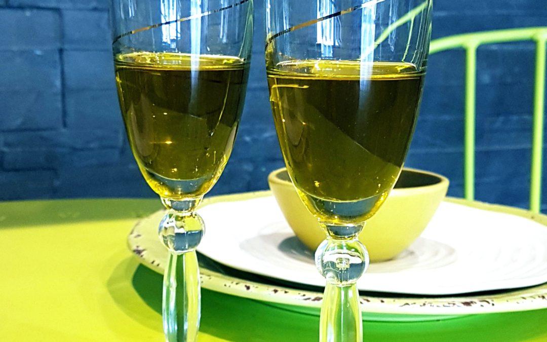 Olive oil—or olive juice?