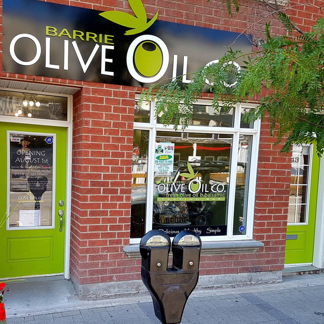 At Olive Oil Co. in Barrie and Newmarket, We Choose Local