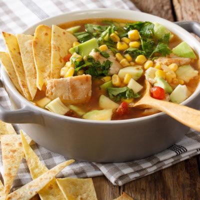 Chicken Chile Verde Soup