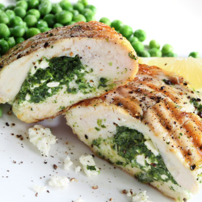 Herbes de Provence Chicken Breast Stuffed with Feta