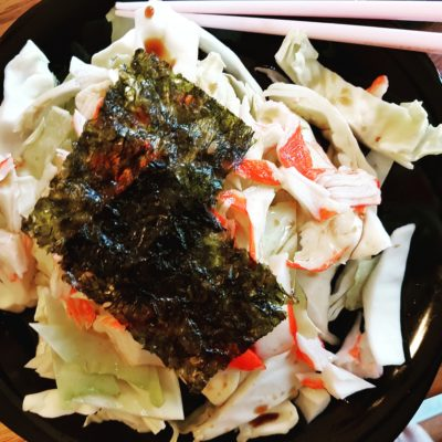 Simple Crab and Cabbage Salad
