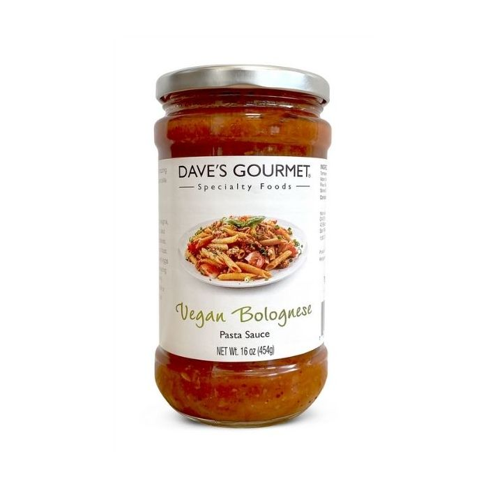 Dave's Gourmet Pasta Sauce – Vegan Bolognese
